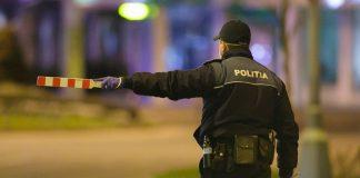 Polițist la datorie în cadrul misiunilor executate sub starea de urgență din România